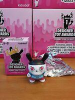 Kidrobot Designer Toy Awards Dunny Series Andrea Kang Crying Worldwide Free S/H