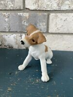 Lenox JACK RUSSELL TERRIER Puppy Dog - Bisque Porcelain Figurine - 2003