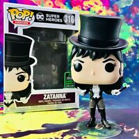 Zatanna 2020 ECCC Convention Exclusive DC Comics Super Heroes Funko POP! #316