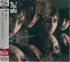 THE WHO ULTIMATE COLLECTION 2012 JAPAN RMST SHM 2CD  - BRAND NEW FACTORY SEALED!