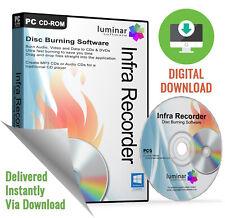 Infra Recorder - Easy CD & DVD Burning Software Suite (Download)