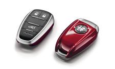 Alfa Romeo Giulietta Giulia Stelvio Red Remote Key Cover in Box 50548986