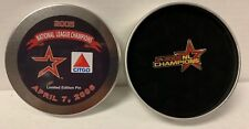 2006 SGA Houston Astros National League Champions Pin Tin