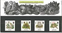 Royal Mail Mint Nature Conservation Stamps Set of 4 No.171 20th May 1986 Z6994
