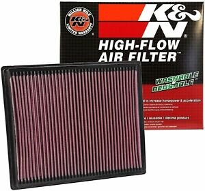 K&N engine air filter for 2004-2019 Nissan/Infiniti Frontier, Titan, Pathfinder