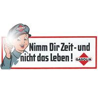 Nimm Dir Zeit und nicht das Leben 30cm Aufkleber Sticker Retro Oldtimer Racing