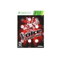 The Voice: I Want You Karaoke Singing Game (Microsoft Xbox 360) - NEW™