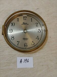 TELECHRON REVERE ELECTRIC WESTMINSTER CHIMES MANTLE CLOCK DIAL & BEZEL NO GLASS