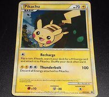 Pikachu HGSS03 HGSS Black Star Promo HOLO Pokemon Card NEAR MINT