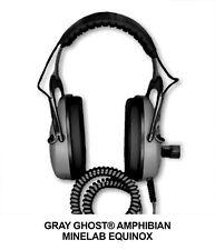 Gray Ghost Amphibian Headphones for Minelab Equinox Metal Detectors 600 or 800