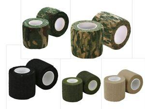 Kombat Army Tactical Military Stealth Sniper Tape Gun Wrap Self Cling Reusable