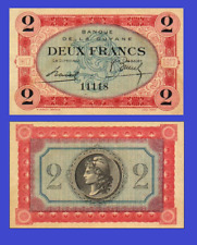 French Guiana 2 francs 1916 UNC - Reproduction