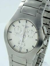 Longines Opposition Chronograph Steel Men's watch with Box