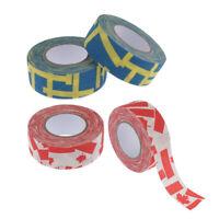 4 Rollen Selbstklebendes Eishockey-Klebeband Stick Blade Grip Cover Wrap Wrapper