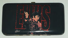 Elvis Presley Wallet Hinged Credit Card Slots Bills License Zippered Pouch New