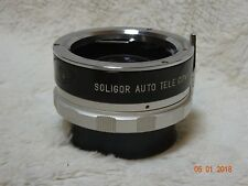 Soligor Auto Tele Converter 2X to fit Minolta-MD Lenses