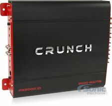 Crunch PX2000.1D 2000W Monoblock Power X Series Class D Car Amplifier w/ Remote