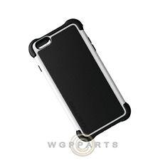 Ballistic Tough Jacket MAXX Case-Apple iPhone 6/6s Plus Black/White Case Cover