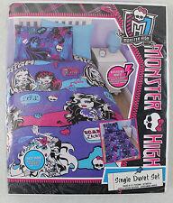 NEU! OVP Monster High Bettwäsche Set 135 x 200 cm Bettbezug und Kissenbezug