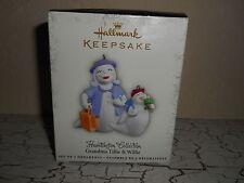 Hallmark Keepsake Halloween Hauntington Ornament 2pc Grandma Tillie & Willie