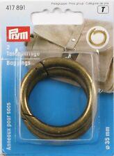 ANELLI per Borse e Accessori 35mm Ottone Anticato PRYM 417891