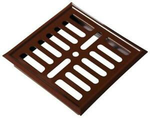 Brown Metal Air Vent Grille 164mm x 240mm Wall Ventilation Cover P61BR