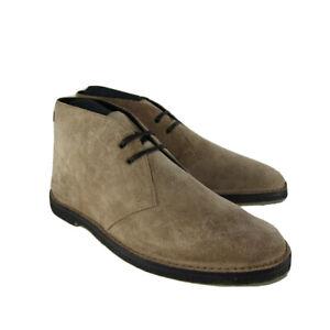 M-153126 New Saint Laurent Oran Chelsea Tan Suede Boots Size 41.5 US 8.5