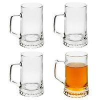 Bormioli Rocco 500ml Stern Drinking Beer Glass Stein Tankard Glasses Ale Mug