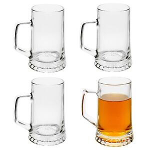 Bormioli Rocco 500ml Stern Drinking Beer Glass Stein Tankard Glasses Ale Mug