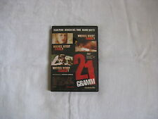 21 GRAMM DVD 2003 Sean Penn Benicio Del Toro Naomi Watts Oliver Stone Thriller