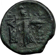 THESSALIAN LEAGUE Larissa Greek Coin ATHENA Magic APOLLO Healer God   i33519