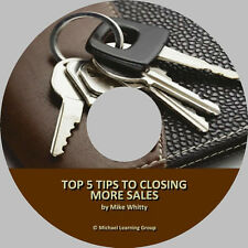 Auto Sales Training - Top 5 Tips to Closing More Sales Audio