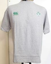 IRELAND RUGBY GREY GRANDSLAM TEE SHIRT BY CANTERBURY SIZE BOYS 8 YEARS NEW