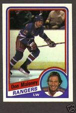1984-85 OPC Hockey Don Maloney #147 NY Rangers NM/MT