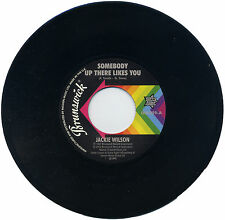 """JACKIE WILSON  """"SOMEBODY UP THERE LIKES YOU c/w A LOVELY WAY TO DIE"""""""