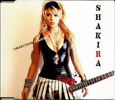 SHAKIRA Objection MIXES & Underneath your Clothes ACOUSTIC UK CD single SEALED