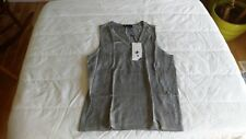 1 NWT CROSS WOMEN'S GOLF SWEATER VEST, SIZE: LARGE, COLOR: GREY  *B94