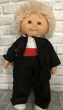 Vintage Zapf Sauerkraut Bunch Doll Blonde Boy In Tuxedo 1984 W. Germany