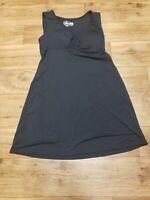 NWT Gerry Women's Outdoor Black Sleeveless Dress Small 96% Polyester