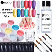 UR SUGAR Acrylic Powder Liquid System Nail Tips Extension Gel Nail Art Brush Kit