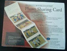 Creative memories taupe photo sharing card Nip!