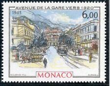 STAMP / TIMBRE DE MONACO N° 1493 ** ART / TABLEAUX / AVENUE DE LA GARE