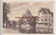 (84570) AK Nürnberg, Insel Schütt, Synagoge, vor 1945