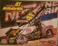 2019 Signed David Gravel Handout World of Outlaw Jason Johnson Racing Weikert