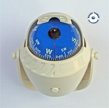 Illuminated Direct Reading Boat Compass (white) – Universal Mount