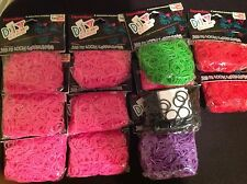D.I.Y 3300 Pcs Latex-free Rubber Band Bracelet Loom Refills Pack & 132 S-Clips