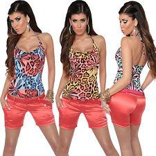 Geblümte ärmellose hüftlange Damenblusen, - tops & -shirts für Party-Anlässe