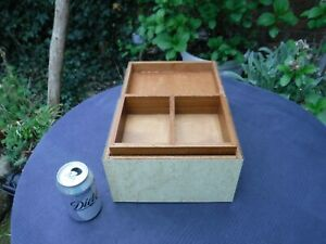 Vintage Birds Eye Formica Covered Box