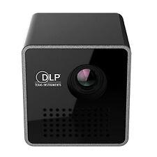 Mini Pocket Home Theater Multimedia,1080P HD P1 LED DLP Projector, USB/TF SU