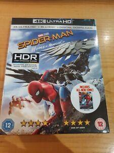 Spiderman Homecoming (4K Ultra HD + Blu-Ray + Digital Download) + FREE POST
